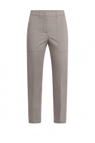 ANKLE LENGHT CARGO TROUSERS PESERICO MINK