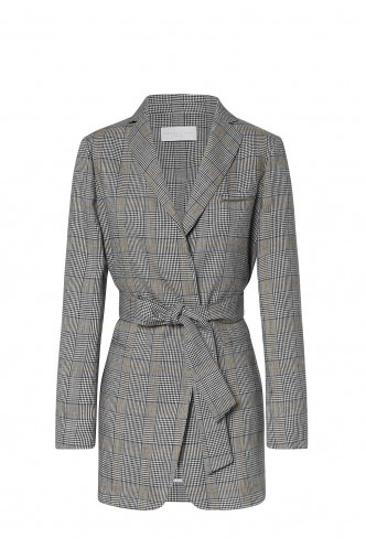 FABIANA_FILIPPI_CHECKED_BLAZER_WITH_BELT_MARIONA_FASHION_CLOTHING_WOMAN_SHOP_ONLINE_GC53319