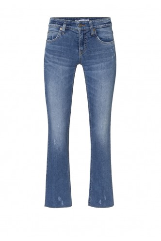 DENIM TROUSERS CAMBIO BLUE