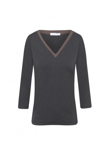 FABIANA_FILIPPI_V_NECK_T-SHIRT_MARIONA_FASHION_CLOTHING_WOMAN_SHOP_ONLINE_JED129W403
