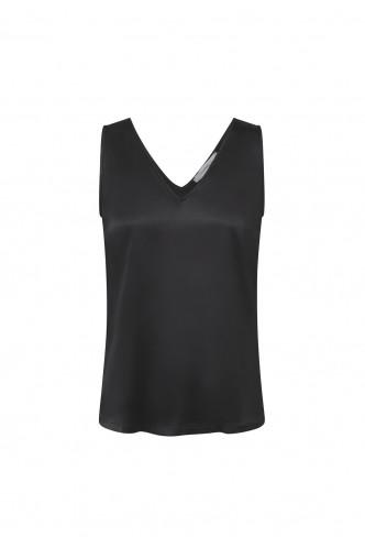 MARELLA_V_NECK_SATIN_TOP_MARIONA_FASHION_CLOTHING_WOMAN_SHOP_ONLINE_BERNA