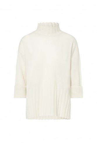 MARELLA_LONG_OVERSIZED_SWEATER_WITH_RIBBED_BOTTOMS_AND_COLLAR_MARIONA_FASHION_CLOTHING_WOMAN_SHOP_ONLINE_TIMOR