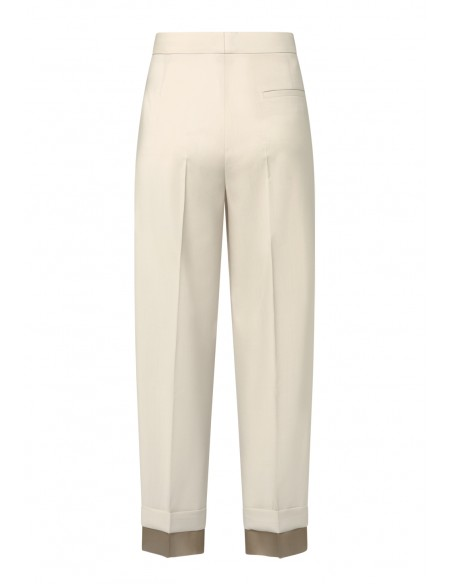 FABIANA_FILIPPI_PLEATED_TROUSERS_WITH_ORGANDI_CUFFS_MARIONA_FASHION_CLOTHING_WOMAN_SHOP_ONLINE_PAD270W766