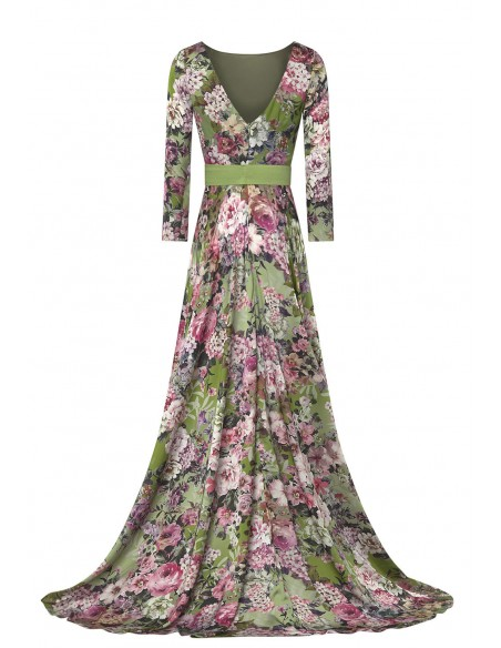 MATILDE_CANO_LONG_FLORAL_PRINT_DRESS_WITH_OPENING_ON_SKIRT_MARIONA_FASHION_CLOTHING_WOMAN_SHOP_ONLINE_7131