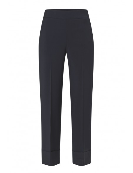 PESERICO_STRAIGHT_FIT_TROUSERS_WITH_TURNED_UP_CUFFS_MARIONA_FASHION_CLOTHING_WOMAN_SHOP_ONLINE_P04738