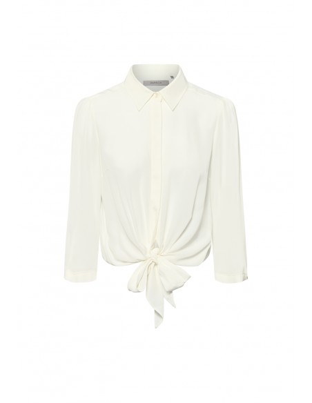 MARELLA_KNOTTED_SHIRT_WITH_GATHERED_WAIST_MARIONA_FASHION_CLOTHING_WOMAN_SHOP_ONLINE_DALILA