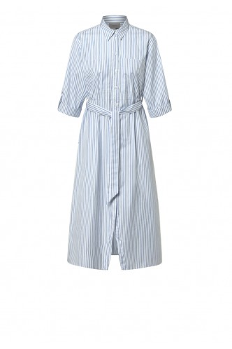 MARELLA_STRIPED_SHIRT_MIDI_DRESS_MARIONA_FASHION_CLOTHING_WOMAN_SHOP_ONLINE_BRANDY
