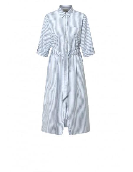 MARELLA_STRIPED_SHIRT_MIDI_DRESS_MARIONA_FASHION_CLOTHING_WOMAN_SHOP_ONLINE_BRANDY