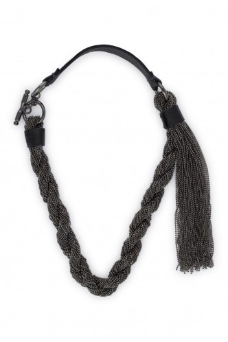 PESERICO_METALLIC_BRAIDED_NECKLACE_WITH_LEATHER_CLOSURE_MARIONA_FASHION_CLOTHING_WOMAN_SHOP_ONLINE_S35237C0