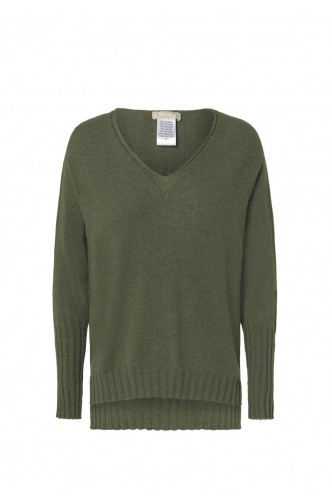 AROVESCIO_LONG_V_NECK_SWEATER_WITH_RIBBING_DETAILS_MARIONA_FASHION_CLOTHING_WOMAN_SHOP_ONLINE_5203