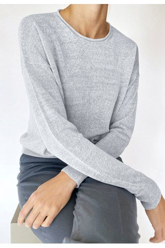 CAPPELLINI_ROUND_COLLA_SWEATER_IN_LINEN_MARIONA_FASHION_CLOTHING_WOMAN_SHOP_ONLINE_M99029F12