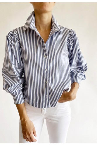 ACCESS_STRIPED_SHIRT_WITH_PLEATS_AT_SHOULDERS_MARIONA_FASHION_CLOTHING_WOMAN_SHOP_ONLINE_7005