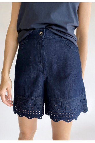 MARELLA_JEANS_SHORTS_WITH_EMBROIDERED_HEMS_MARIONA_FASHION_CLOTHING_WOMAN_SHOP_ONLINE_31410312200