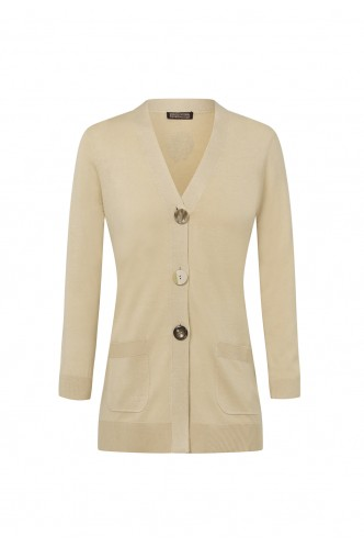 MALIPARMI_LONG_CARDIGAN_WITH_POCKETS_AND_CONTRASTED_BUTTONS_MARIONA_FASHION_CLOTHING_WOMAN_SHOP_ONLINE_165JN3050