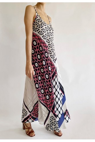 ROBERTO_COLLINA_STRAPPY_DRESS_IN_PATCHWORK_PRINT_MARIONA_FASHION_CLOTHING_WOMAN_SHOP_ONLINE_E55036
