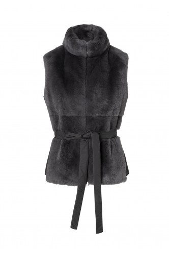 PESERICO_COMBINED_FUR_AND_TECHNICAL_FABRIC_VEST_MARIONA_FASHION_CLOTHING_WOMAN_SHOP_ONLINE_S03284C1AB